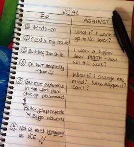 VCAL List