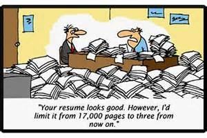 long resume